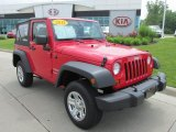 2012 Flame Red Jeep Wrangler Sport 4x4 #82038732