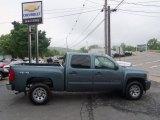 2010 Blue Granite Metallic Chevrolet Silverado 1500 LS Crew Cab 4x4 #82038569