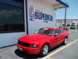 2005 Torch Red Ford Mustang V6 Deluxe Coupe #82038590