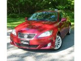 2008 Matador Red Mica Lexus IS 250 AWD #82038747