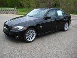 2009 Black Sapphire Metallic BMW 3 Series 328xi Sedan #8195101