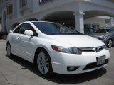 2007 Taffeta White Honda Civic Si Coupe #82058202