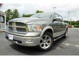 2010 Mineral Gray Metallic Dodge Ram 1500 Laramie Crew Cab #82063427