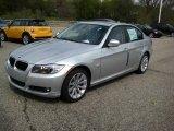 2009 Titanium Silver Metallic BMW 3 Series 328xi Sedan #8195103