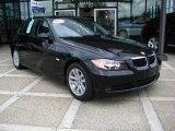2007 Jet Black BMW 3 Series 328i Sedan #8195183