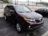 2011 Dark Cherry Kia Sorento EX AWD #82063530