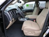 2013 Toyota Tundra Limited Double Cab 4x4 Sand Beige Interior