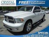 2010 Stone White Dodge Ram 1500 Big Horn Quad Cab 4x4 #82063479