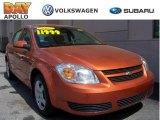 2007 Sunburst Orange Metallic Chevrolet Cobalt LT Sedan #8188647