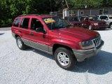 2002 Inferno Red Tinted Pearlcoat Jeep Grand Cherokee Laredo 4x4 #82063510