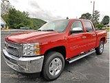 2013 Victory Red Chevrolet Silverado 1500 LT Crew Cab 4x4 #82063466