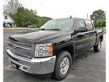 2013 Black Chevrolet Silverado 1500 LT Crew Cab 4x4 #82063465