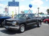 2005 Black Chevrolet Silverado 1500 LT Extended Cab 4x4 #8191003