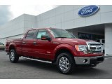 2013 Ruby Red Metallic Ford F150 XLT SuperCrew 4x4 #82063184