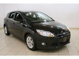2012 Tuxedo Black Metallic Ford Focus SEL 5-Door #82063450