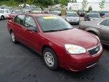2007 Sport Red Metallic Chevrolet Malibu LS Sedan #82063568