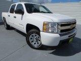 2011 Summit White Chevrolet Silverado 1500 LS Crew Cab #82063256