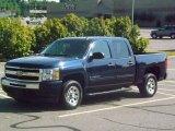 2010 Imperial Blue Metallic Chevrolet Silverado 1500 LT Crew Cab #82063307