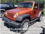 2011 Mango Tango Pearl Jeep Wrangler Sport S 4x4 #82098752