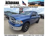 2011 Deep Water Blue Pearl Dodge Ram 1500 Big Horn Crew Cab 4x4 #82098372