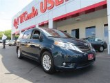2011 South Pacific Blue Pearl Toyota Sienna XLE #82098246