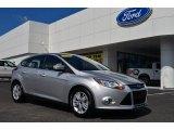 2012 Ingot Silver Metallic Ford Focus SEL 5-Door #82098367