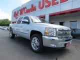 2013 Silver Ice Metallic Chevrolet Silverado 1500 LT Crew Cab #82098241