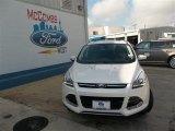 2013 White Platinum Metallic Tri-Coat Ford Escape Titanium 2.0L EcoBoost #82098215