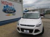 2013 White Platinum Metallic Tri-Coat Ford Escape SEL 1.6L EcoBoost #82098213