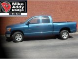 2006 Atlantic Blue Pearl Dodge Ram 1500 SLT Quad Cab #8196411