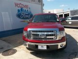 2013 Ruby Red Metallic Ford F150 XLT SuperCrew #82098206