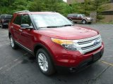 2013 Ruby Red Metallic Ford Explorer XLT 4WD #82098325
