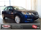 2013 Obsidian Blue Pearl Honda Accord EX Sedan #82098083
