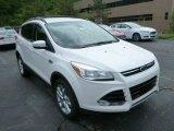2013 White Platinum Metallic Tri-Coat Ford Escape SEL 2.0L EcoBoost 4WD #82098322