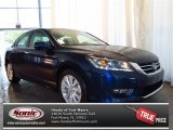 2013 Obsidian Blue Pearl Honda Accord EX-L Sedan #82098081
