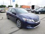 2013 Obsidian Blue Pearl Honda Accord Sport Sedan #82098823