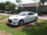 2013 White Satin Pearl Hyundai Genesis Coupe 3.8 Track #82098944