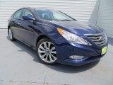 2013 Indigo Night Blue Hyundai Sonata SE #82098455