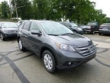 2013 Polished Metal Metallic Honda CR-V EX AWD #82098814