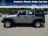 2013 Billet Silver Metallic Jeep Wrangler Unlimited Sport 4x4 #82098302