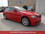 2006 Electric Red BMW 3 Series 330xi Sedan #82098446