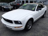 2005 Performance White Ford Mustang V6 Premium Convertible #82098060