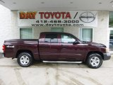 2004 Deep Molten Red Pearl Dodge Dakota SLT Club Cab 4x4 #82098170