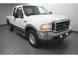 2002 Oxford White Ford F250 Super Duty Lariat SuperCab #82098679