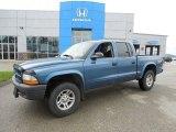2003 Atlantic Blue Pearlcoat Dodge Dakota SXT Quad Cab 4x4 #82098792