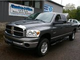 2008 Mineral Gray Metallic Dodge Ram 1500 SLT Quad Cab 4x4 #82098423