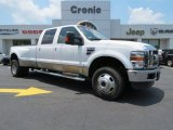 2010 Oxford White Ford F350 Super Duty Lariat Crew Cab 4x4 Dually #82098417