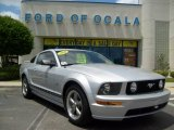 2006 Satin Silver Metallic Ford Mustang GT Premium Coupe #8189686