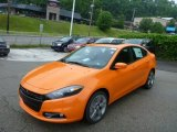 2013 Header Orange Dodge Dart SXT #82098650