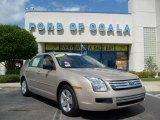 2008 Dune Pearl Metallic Ford Fusion S #8189689